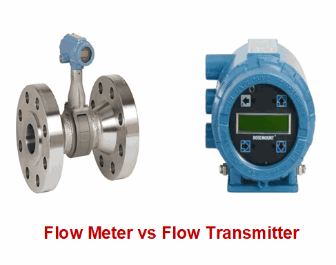 flow meter vs floe transmitter